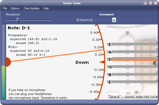 guitar tuner for windows 10 free download